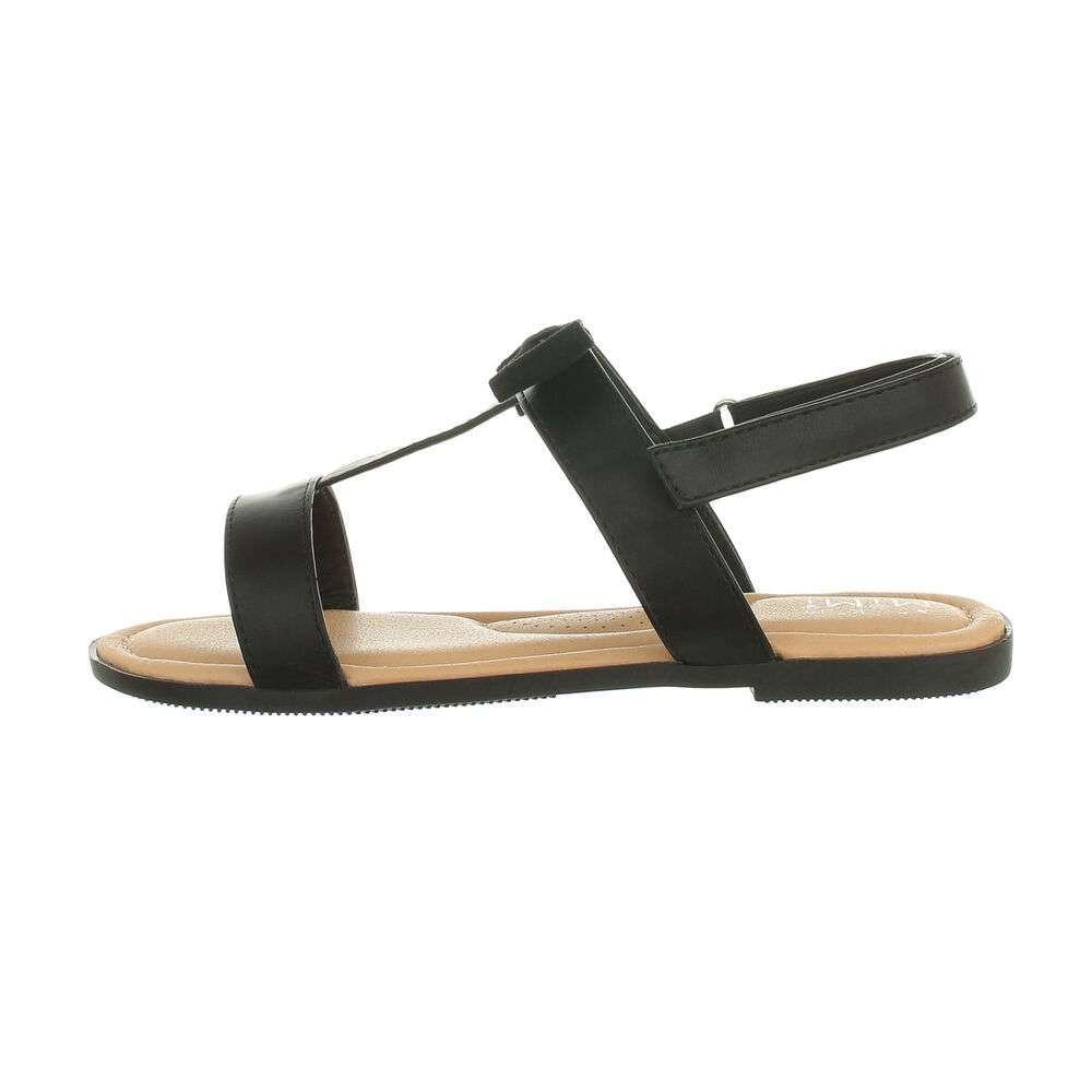 Sandale ortopedice pentru copii - negre