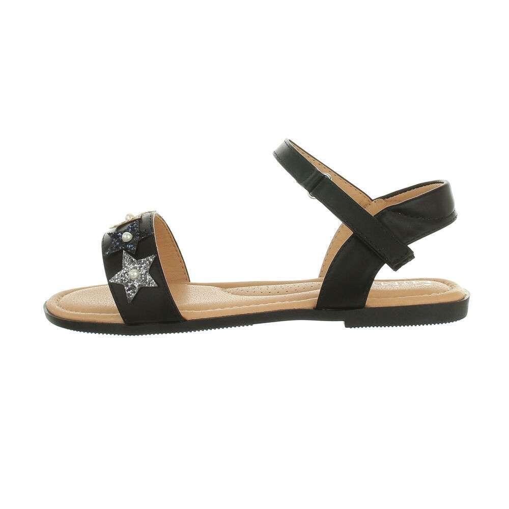 Sandale ortopedice pentru copii - negre - image 1