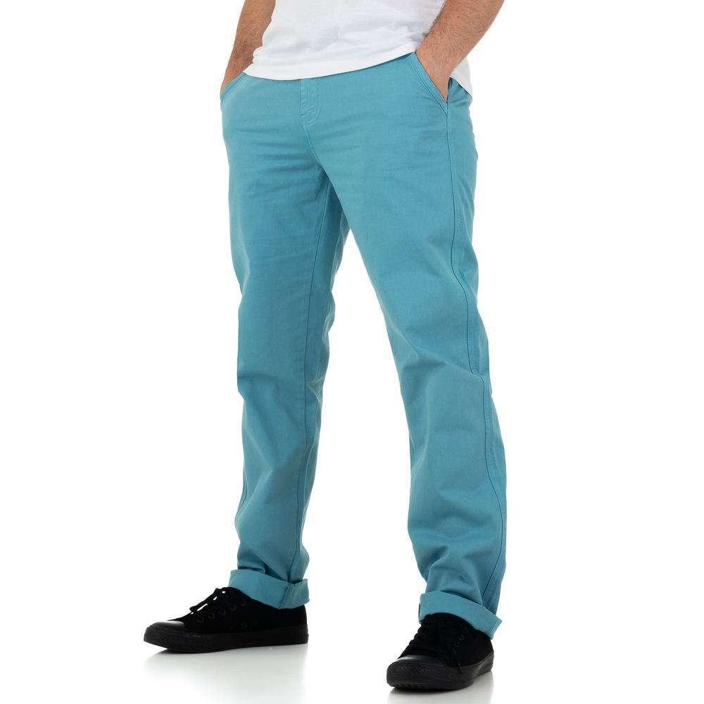 Pantaloni bărbați marca Glo storye - turcoaz