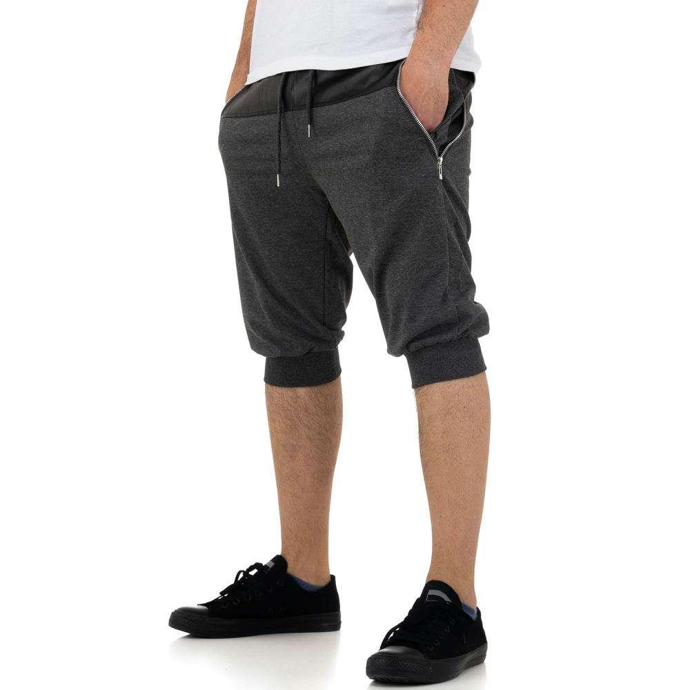 Pantaloni scurți pentru bărbați de la Nature - gri - image 2