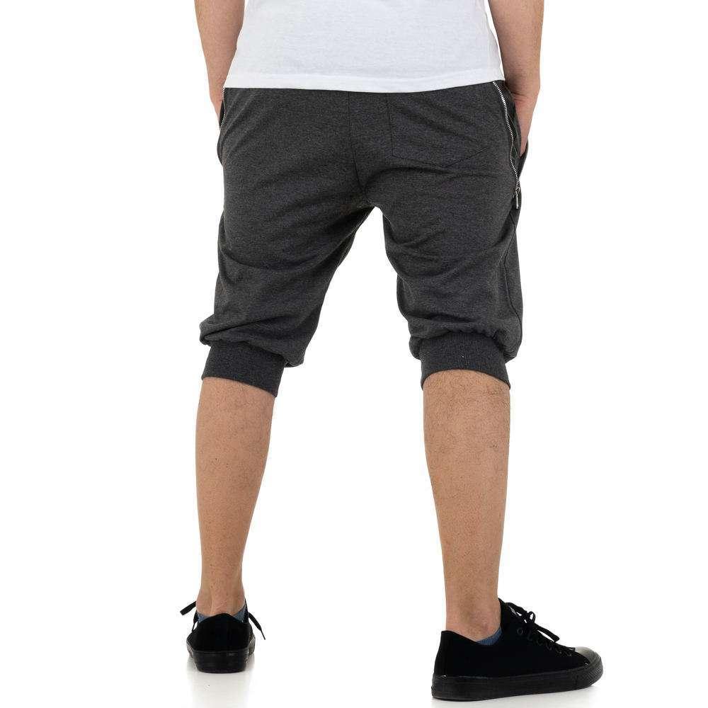 Pantaloni scurți pentru bărbați de la Nature - gri - image 3