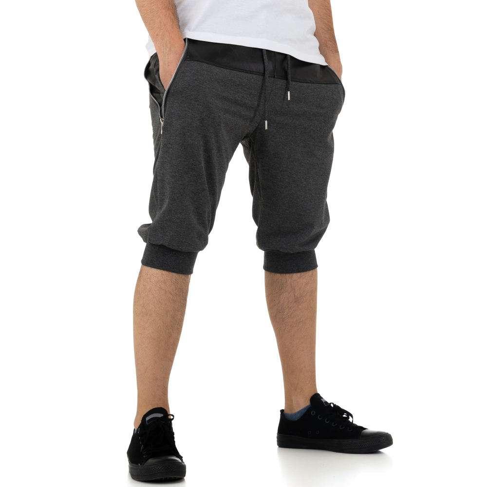 Pantaloni scurți pentru bărbați de la Nature - gri - image 4