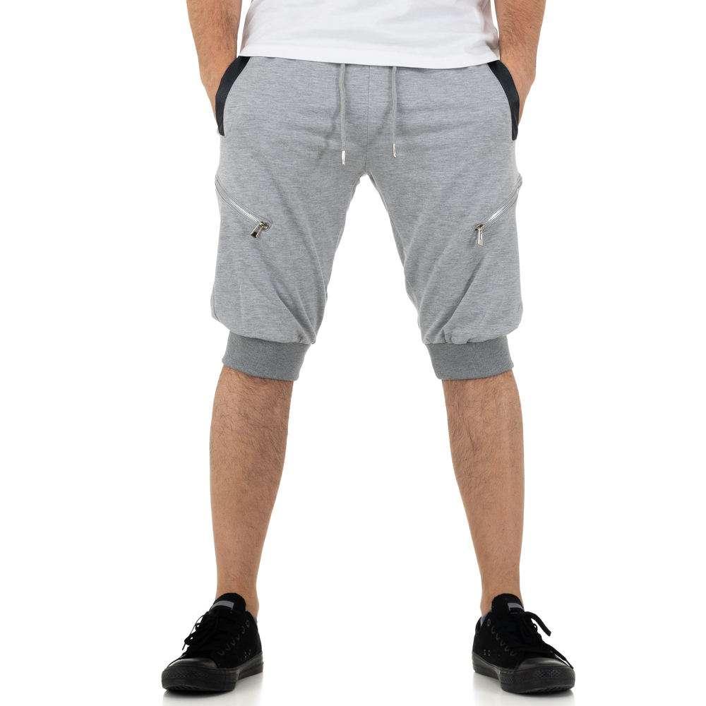 Pantaloni scurți pentru bărbați de la Nature - deschis gri
