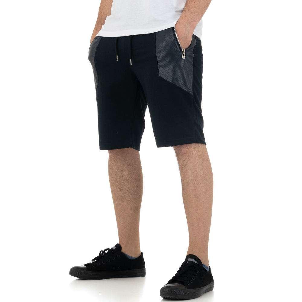 Pantaloni scurți pentru bărbați de la Nature - DK.blue - image 2