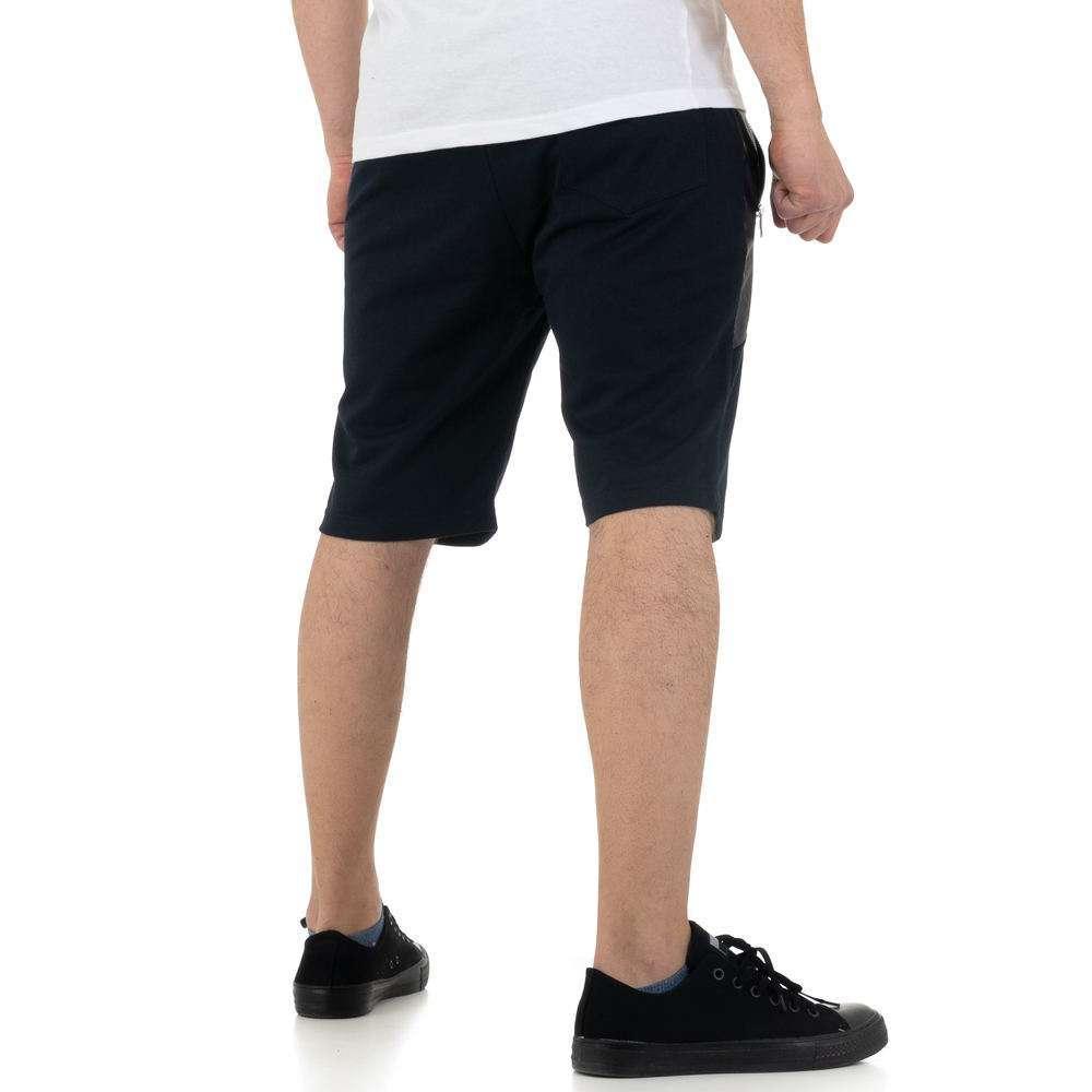 Pantaloni scurți pentru bărbați de la Nature - DK.blue - image 3