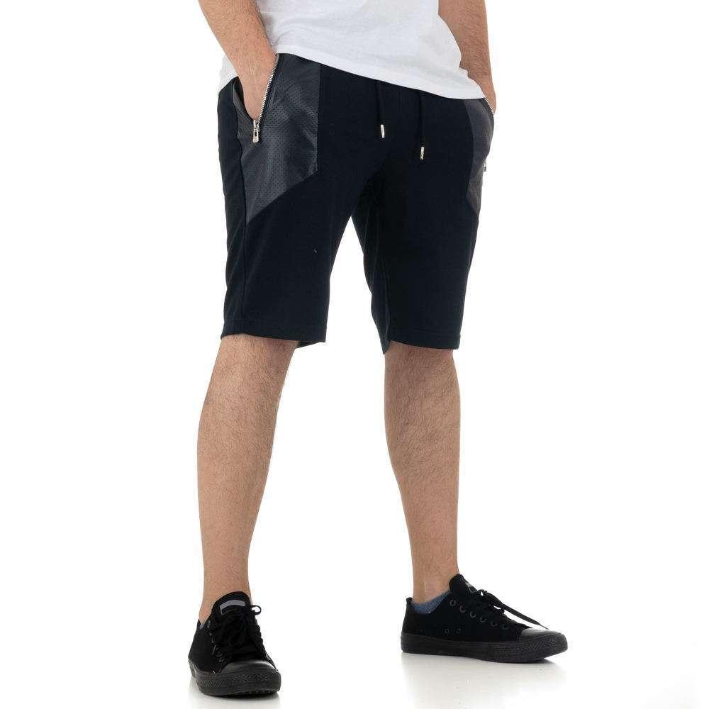 Pantaloni scurți pentru bărbați de la Nature - DK.blue - image 4