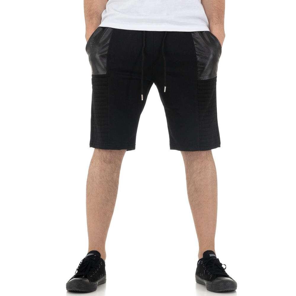 Pantaloni scurți pentru bărbați de la Nature - negru