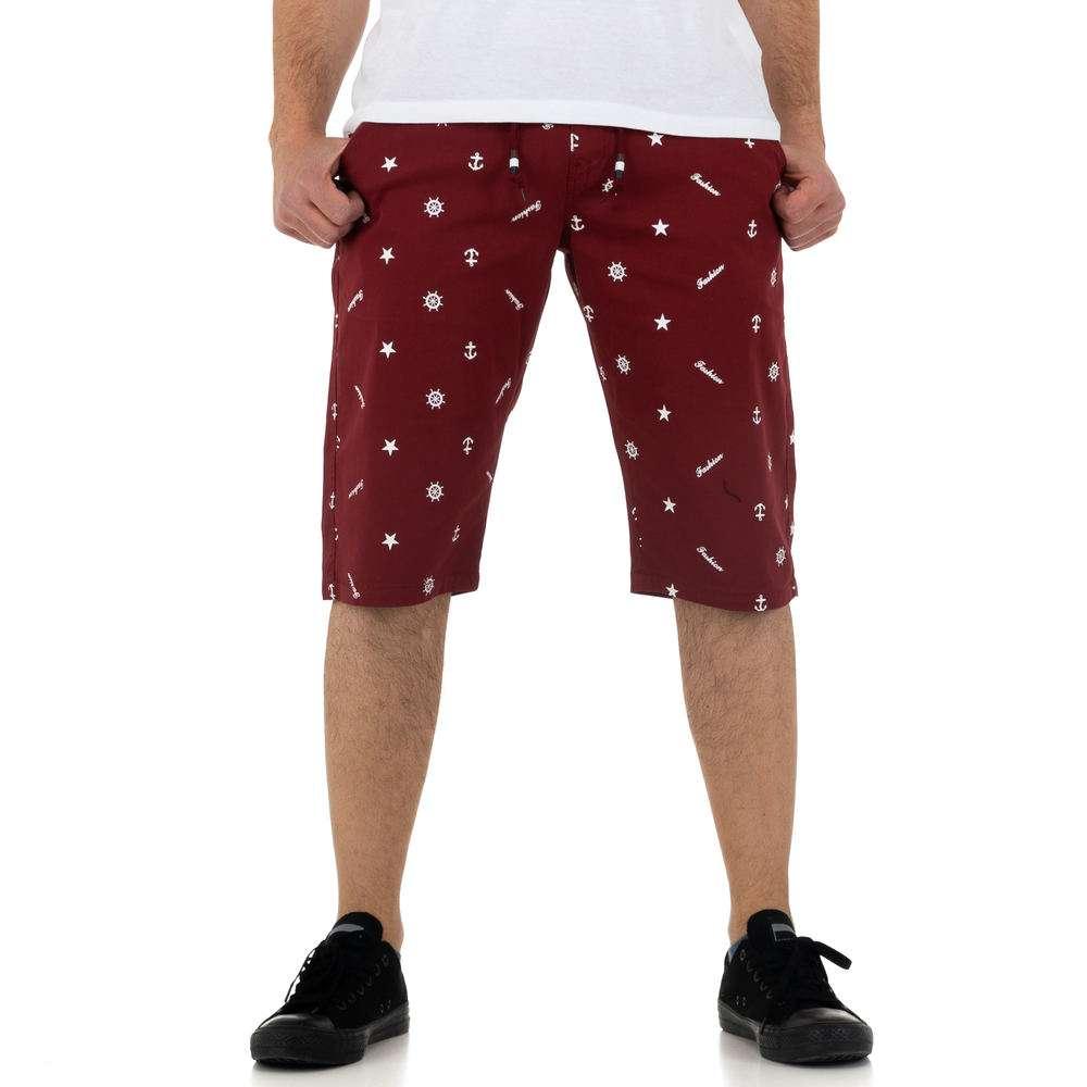 Pantaloni scurți pentru bărbați de la Nature - wine