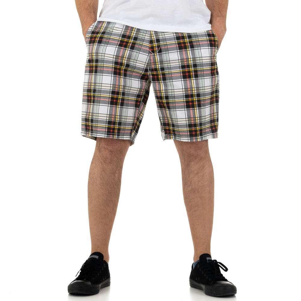 Pantaloni scurți pentru bărbați de la Nature - redblack