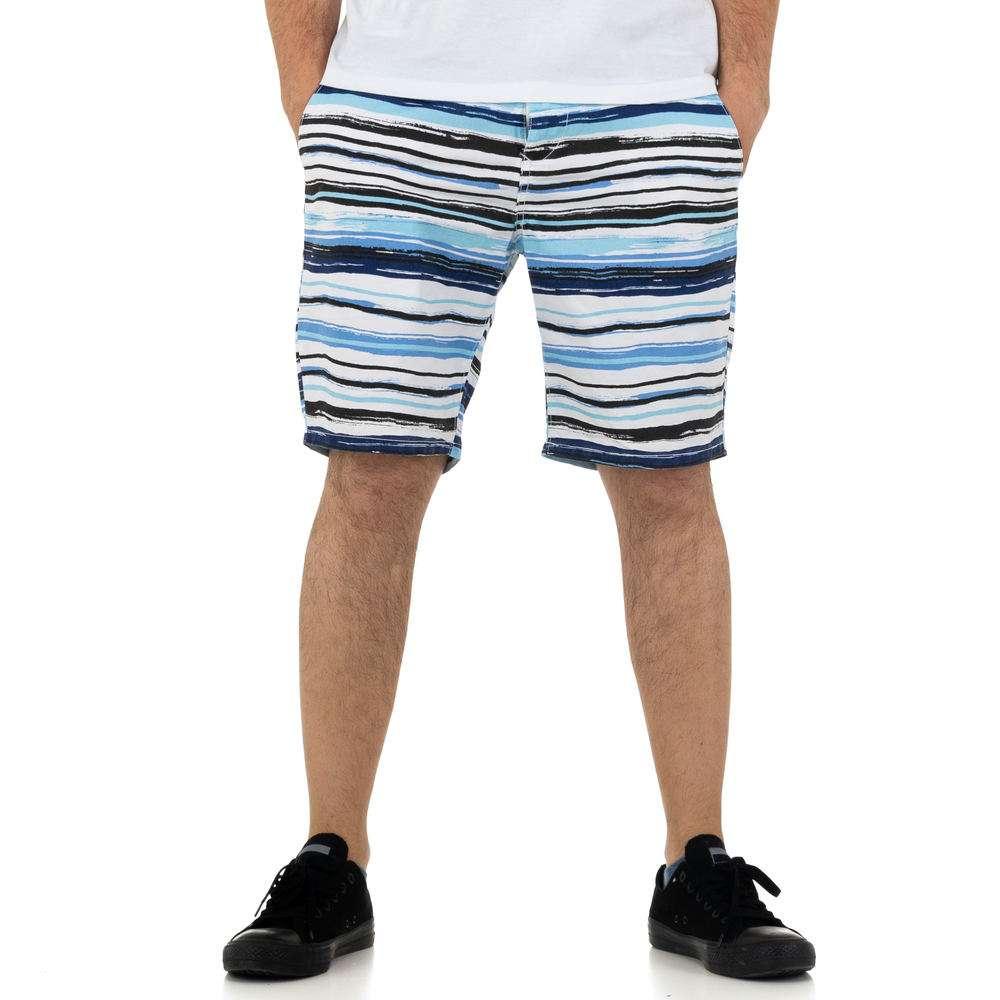 Pantaloni scurți pentru bărbați de la Nature - albastru