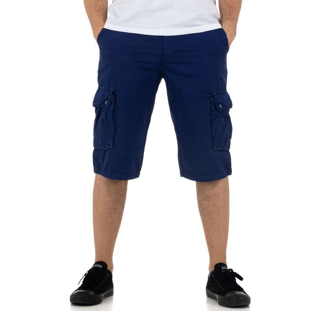 Pantaloni scurți pentru bărbați de la Nature - albastru regal
