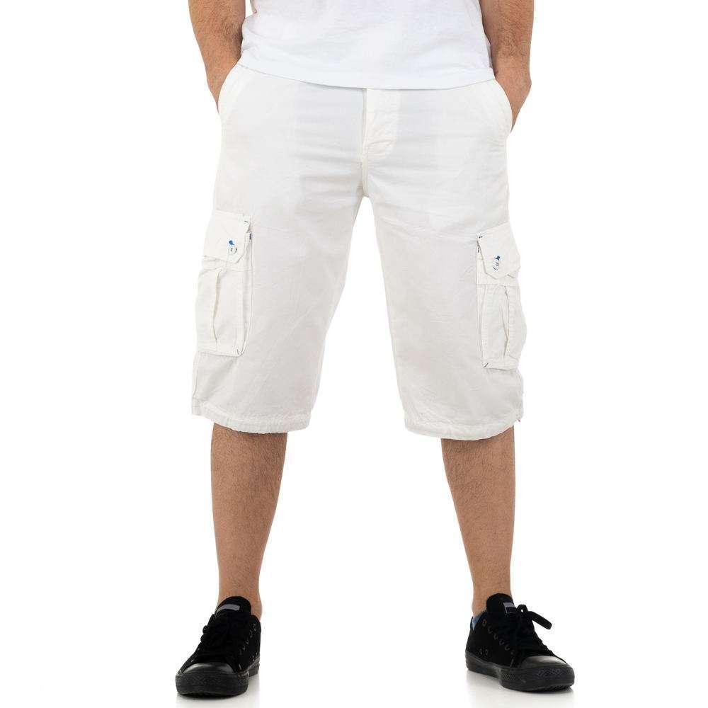 Pantaloni scurți pentru bărbați de la Nature - thealb
