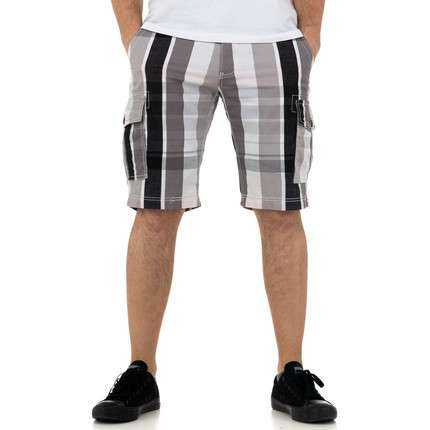 Herren Shorts von Nature - whitegray