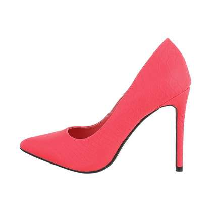 Damen High-Heel Pumps - fuchsia