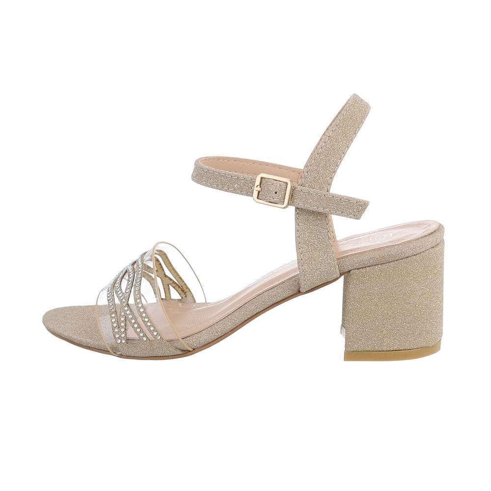 Sandale pentru femei - aurii