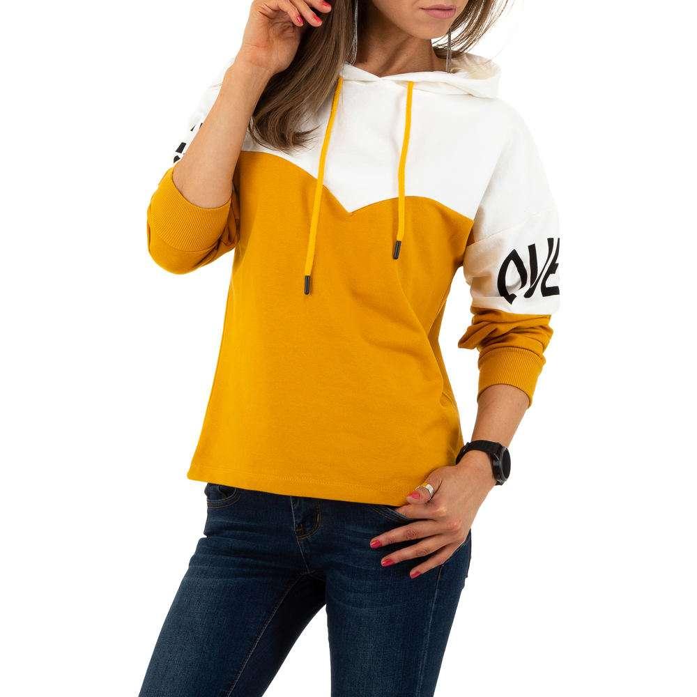 Hanorac de dama de la Metrofive - galben - image 1
