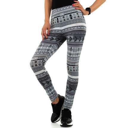 Damen Leggings von Metrofive - grey