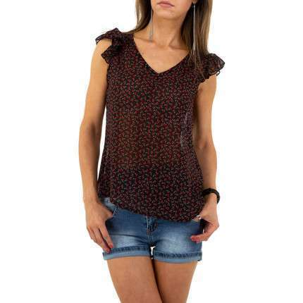 Damen Top von Voyelles - black