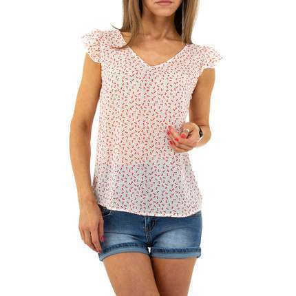 Damen Top von Voyelles - white
