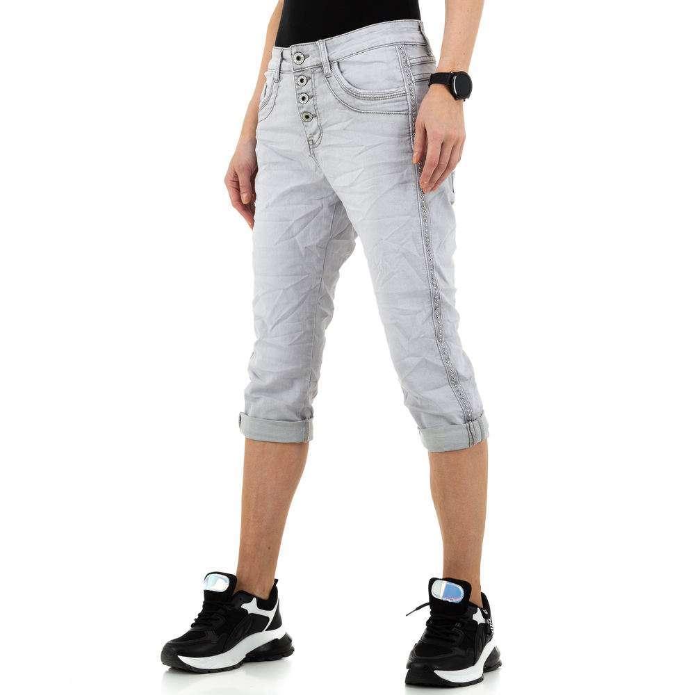 Blugi pentru femei de Jewelly Jeans - lgrey