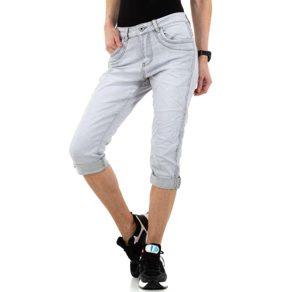 Blugi pentru femei de Jewelly Jeans - lgri