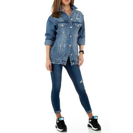 Damen Jacke von Colorful Denim - blue