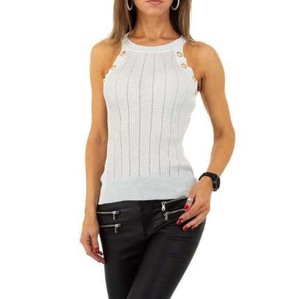 Damen Top von Drole de Copine Gr. One Size - L.grey