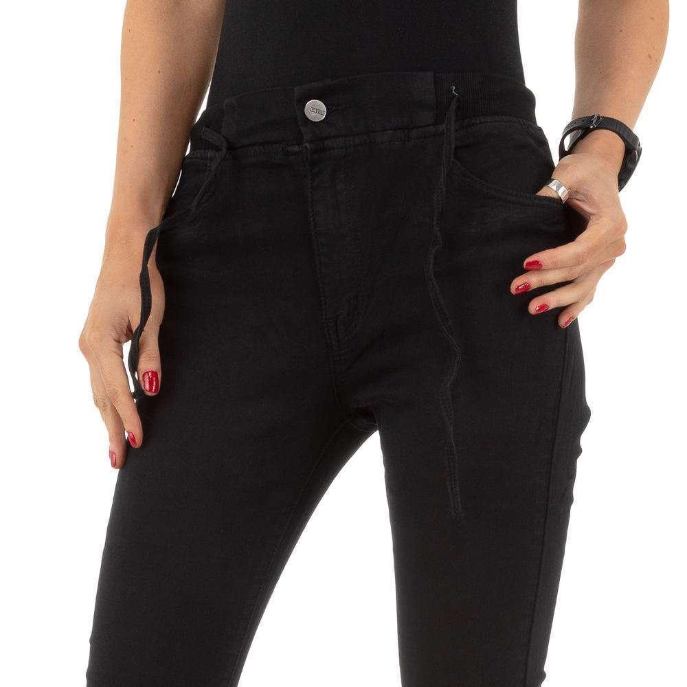 Blugi de dama de la Daysie Jeans - negru - image 5