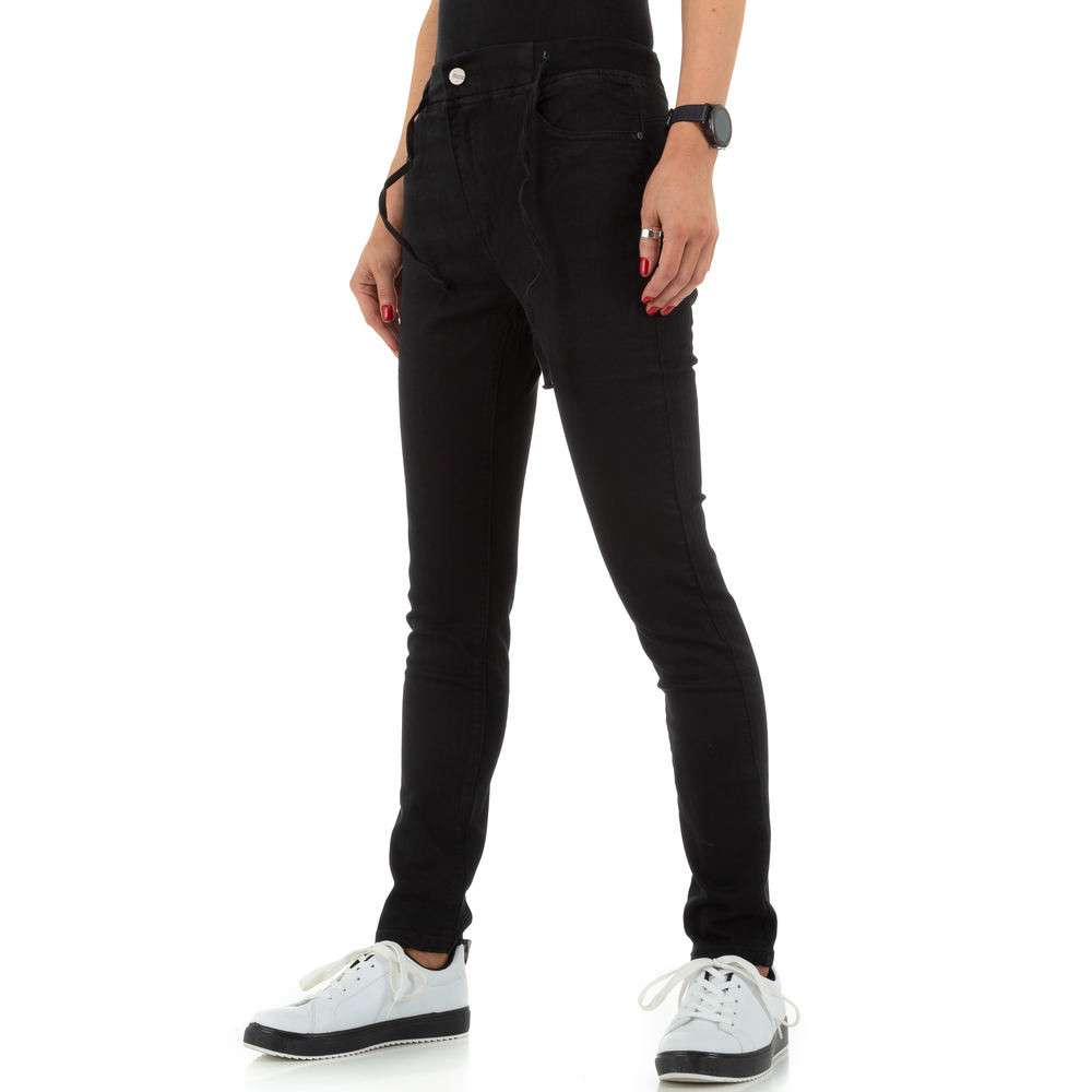 Blugi de dama de la Daysie Jeans - negru - image 6