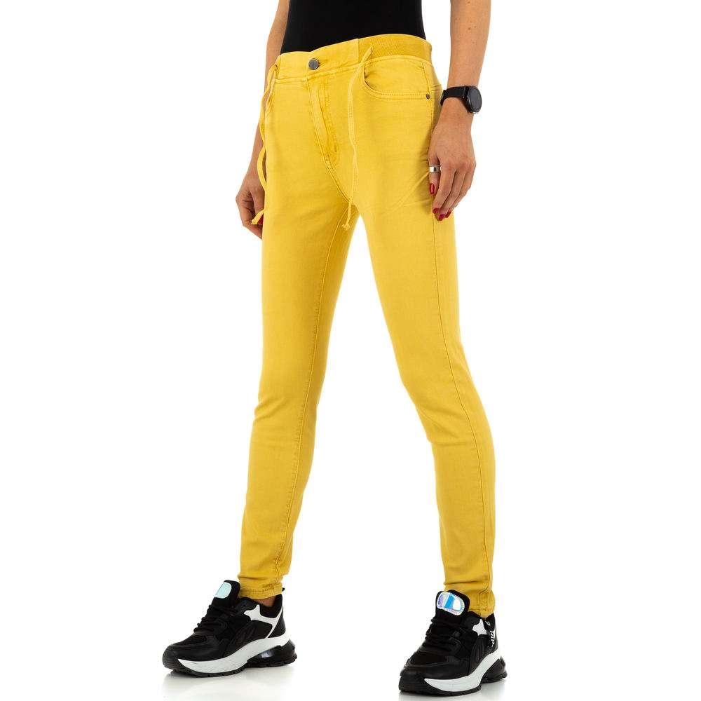 Blugi de dama de la Daysie Jeans - galben - image 1