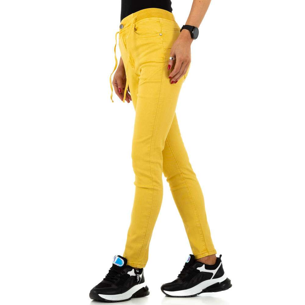 Blugi de dama de la Daysie Jeans - galben - image 2
