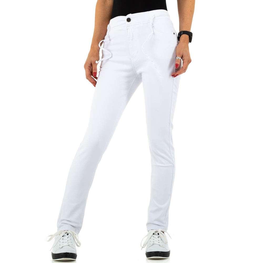 Blugi de dama de la Daysie Jeans - alb - image 1