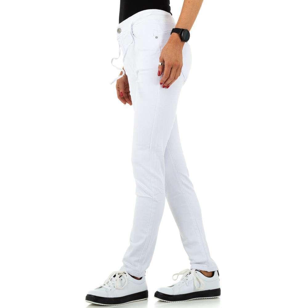 Blugi de dama de la Daysie Jeans - alb - image 2