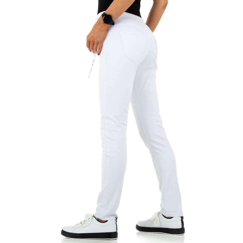 Blugi de dama de la Daysie Jeans - alb - image 3