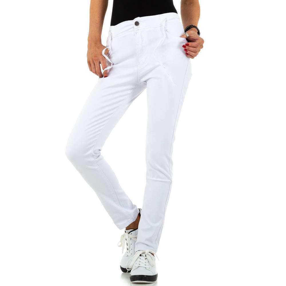 Blugi de dama de la Daysie Jeans - alb - image 4