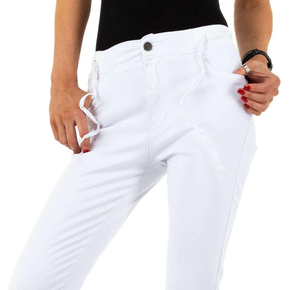 Blugi de dama de la Daysie Jeans - alb - image 5
