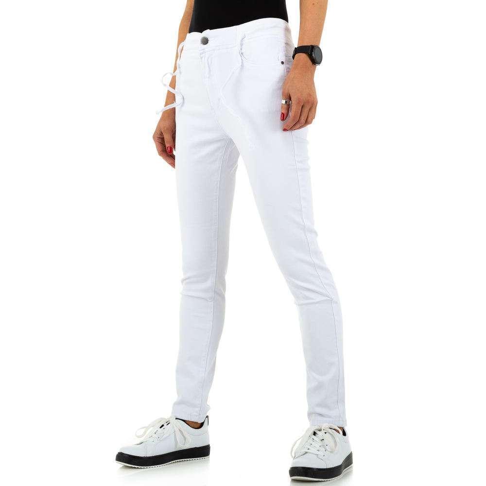 Blugi de dama de la Daysie Jeans - alb - image 6
