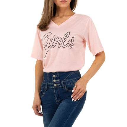 Damen Shirt von JCL - rose