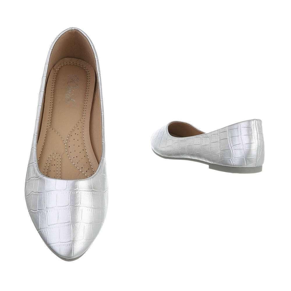 Balerini pentru femei - argintii - image 3