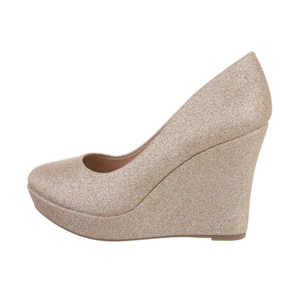 Damen High-Heel Pumps - champagne