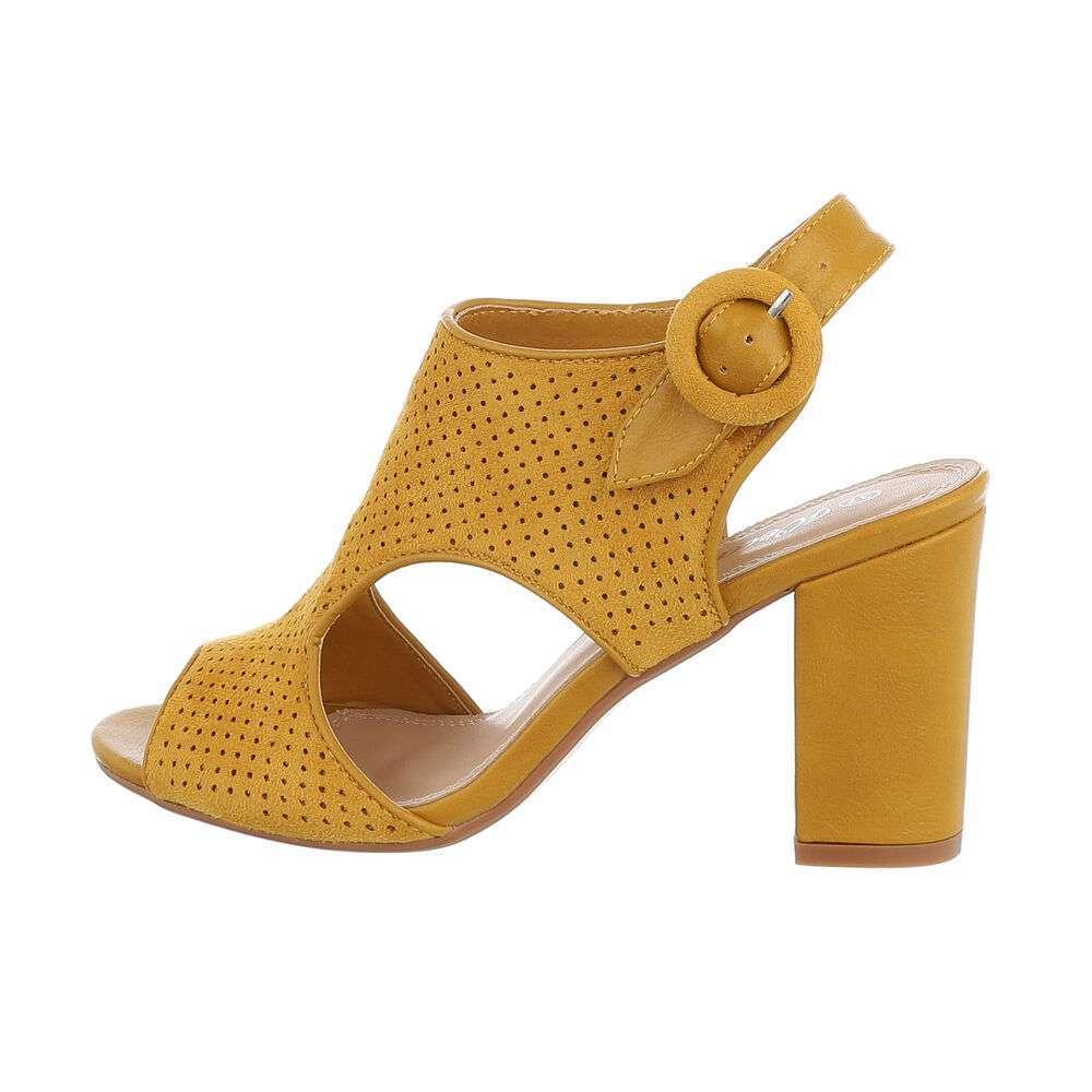 Sandale de dama - galbene - image 1