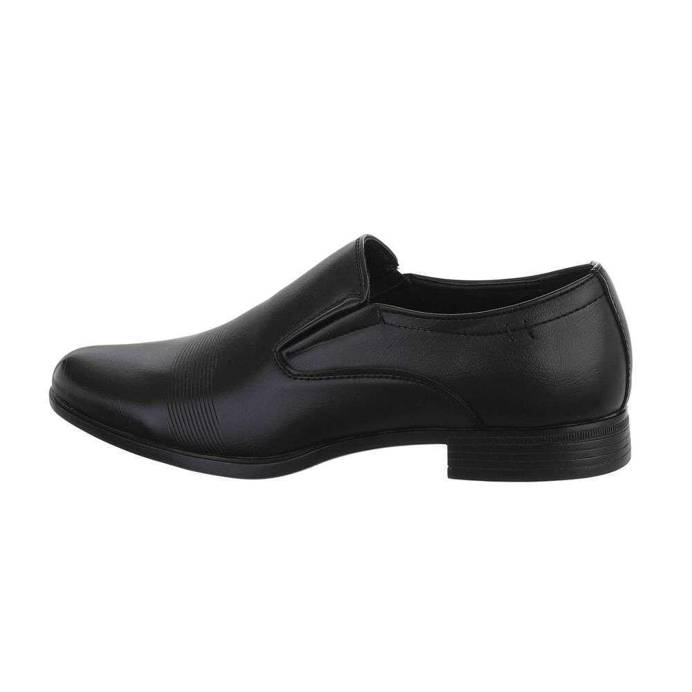 Pantofi casual pentru bărbați - negri - image 1