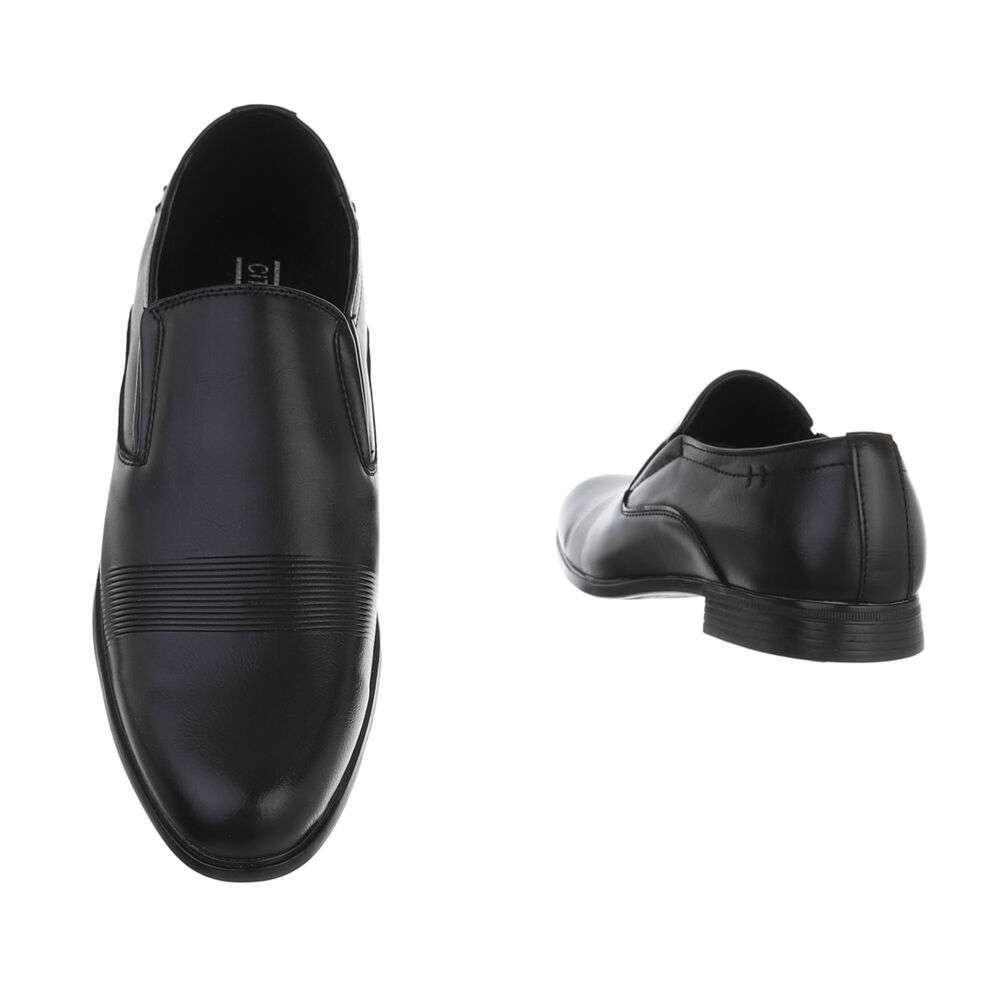 Pantofi casual pentru bărbați - negri - image 3