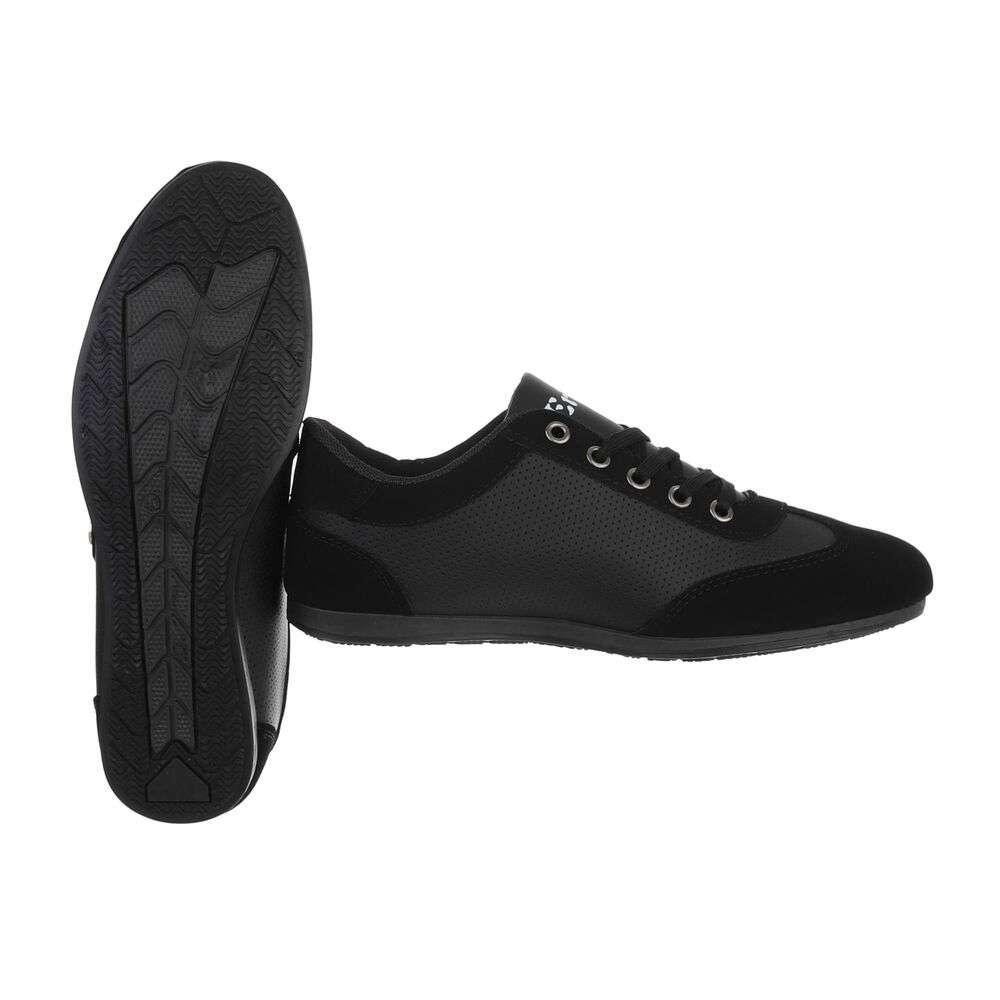 Pantofi casual pentru bărbați - negri - image 2