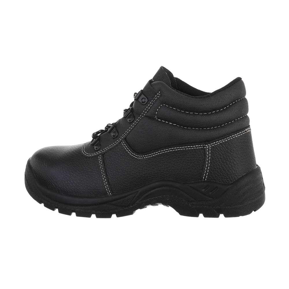 Pantofi de protecție pentru bărbați - negri