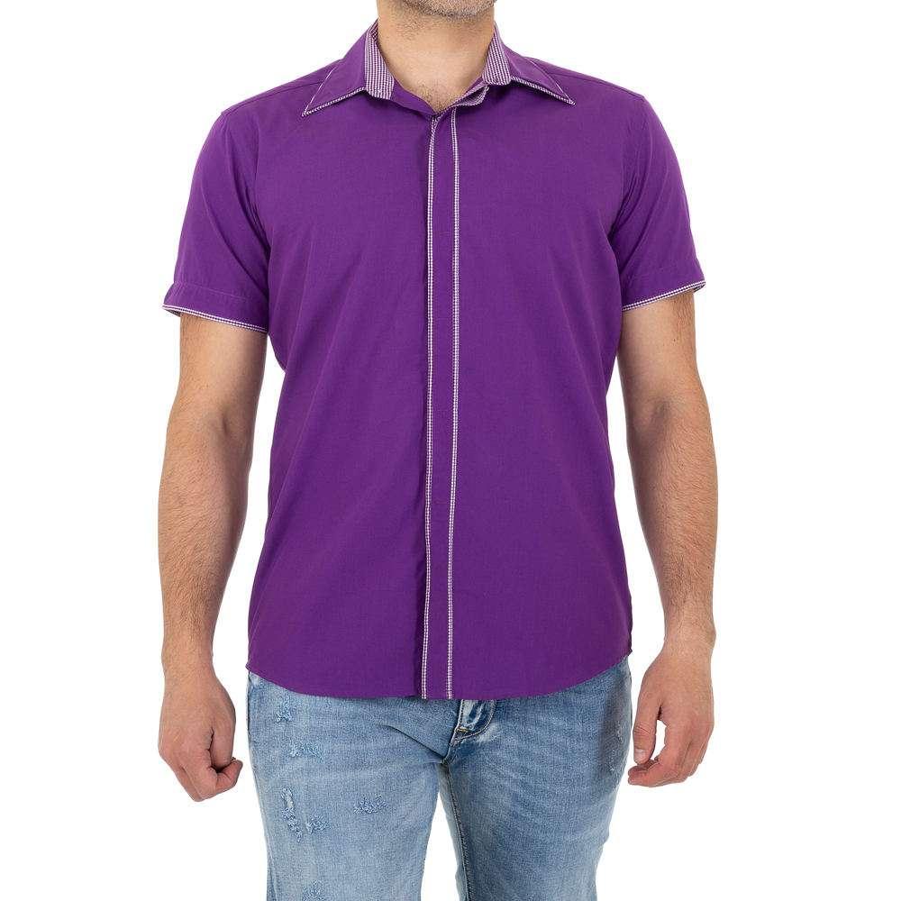 Chemise homme par Climmer - violet