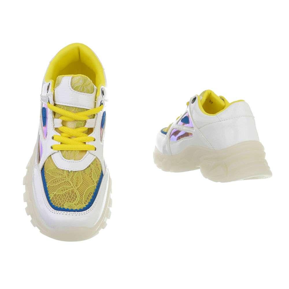 Adidași sport de damă - albi - image 3