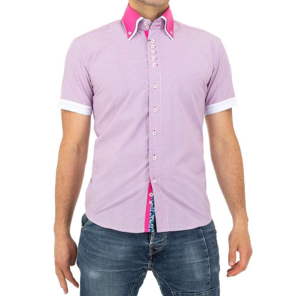 Рубашка мужская Climmer - розовая