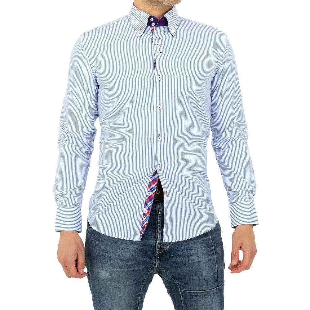 Herren Hemd von Glimmer - whiteblue