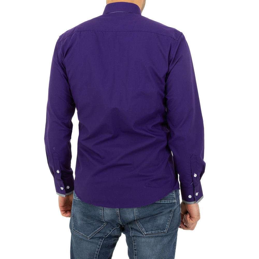 Cămașă bărbătească de la Glimmer - violet - image 3